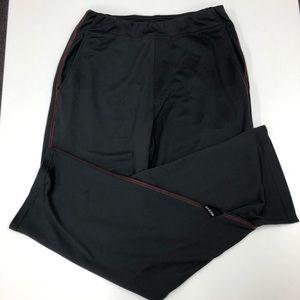 prAna Men's Gray & Red Sweatpants Sz S